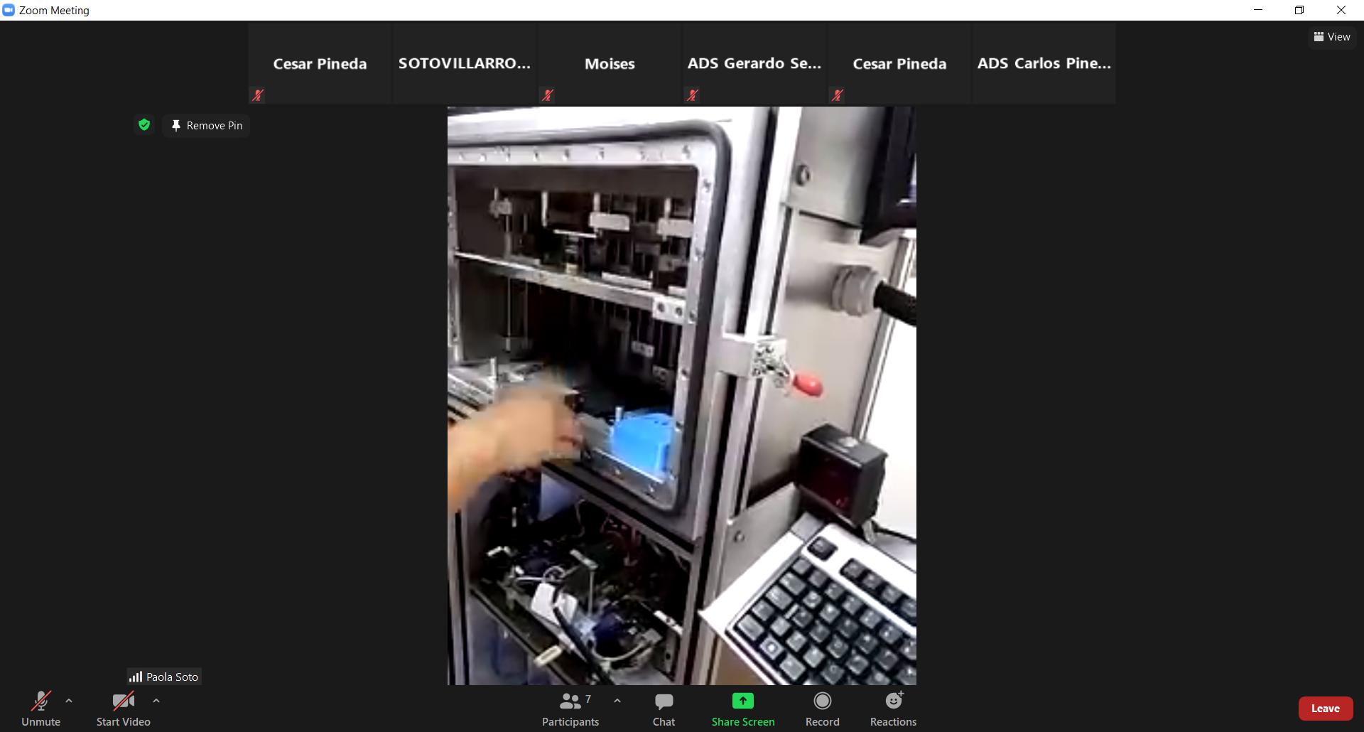 ADS realiza la primer capacitación y mantenimiento remoto internacional con Ecuador